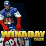 WinADay Casino :: Independence Day slots tournaments - US Players Welcome!