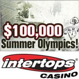 Intertops Casino $100K Olympics Casino Bonuses