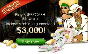 Vegas Palms Online Casino :: SuperCash Accumulator tournament