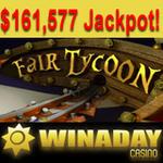 WinADay Jackpot Hit for $160K