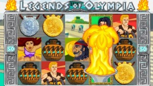 Legends of Olympia :: NEW BetOnSoft video slot - PLAY NOW !