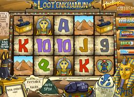 PARTY CASINO :: Loot'EnKhamun slot game - PLAY NOW!