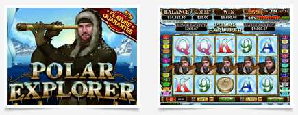 Cool Cat Casino :: Polar Explorer video slot - PLAY NOW!