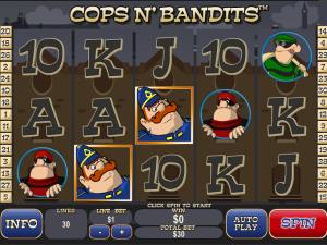 CASINO TROPEZ :: Cops and Bandits slot game - PLAY NOW!