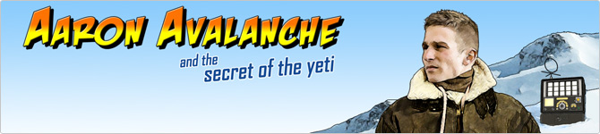 PAF Casino :: Aaron Avalanche And The Secret Of The Yeti slot game - PLAY NOW!