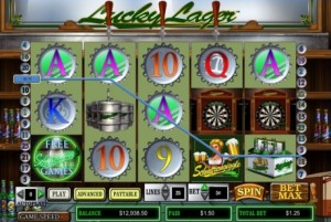 INTER CASINO :: Lucky Lager video slot - PLAY NOW!