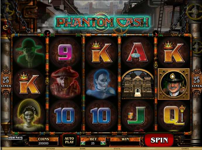 RED FLUSH CASINO :: Phantom Cash video slot - PLAY NOW!