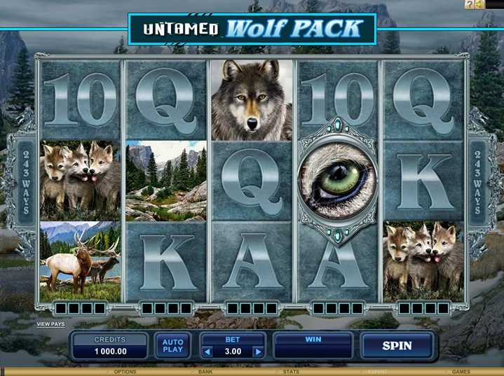 All Slots Casino :: Untamed-Wolf Pack video slot - PLAY NOW!