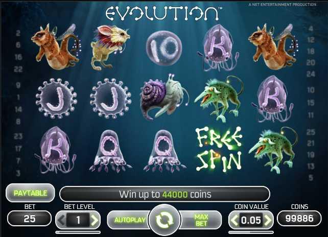 Vera&John Casino :: Evolution video slot - PLAY NOW!