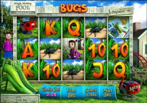 ComeOn Casino :: New 3D progressive slot game: BUGS - PLAY NOW!