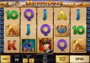 WINNER CASINO :: Daring Dave and the Eye of Ra slot game - PLAY NOW!