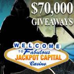 Jackpot Capital $70K Halloween Casino Bonuses