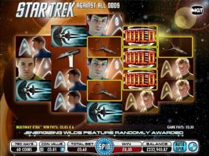 Virgin Casino :: Star Trek Against All Odds slot game - PLAY NOW!