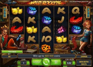 RedBet Casino :: Wild Rockets video slot - PLAY NOW!