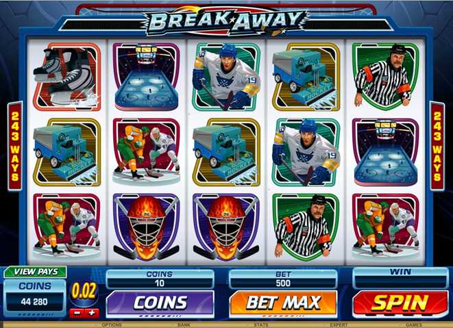 Casino LaVida :: Break Away – NEW Video Slot :: PLAY NOW!