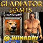 WinADay's New Gladiator Games Slot w Bonus Game