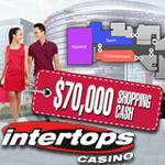 Intertops Casino $70K Shopping Cash Bonuses