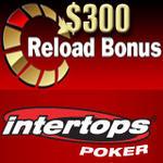 Intertops Poker Reload Bonus and Prague Satellites