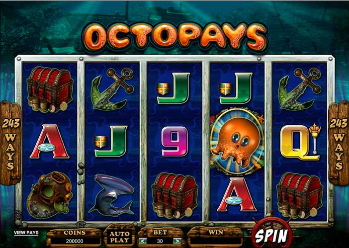 Red Flush Online Casino :: Octopays – NEW Video Slot :: PLAY NOW!