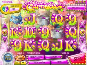 Slots Capital Casino :: Wild Carnival slot game - PLAY NOW!