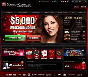 Mansion Casino :: Australian Online Casino