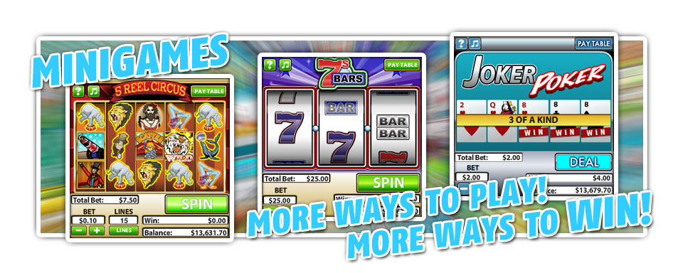 Play2Win Casino :: NEW Rival Mini Games - PLAY NOW!