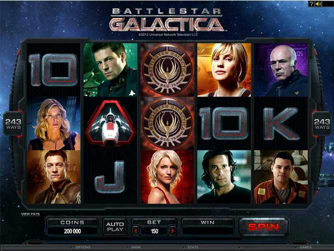 Red Flush Casino :: Battlestar Galactica video slot - PLAY NOW!