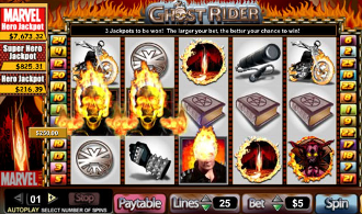 7Regal Casino :: Ghost Rider video slot - PLAY NOW!