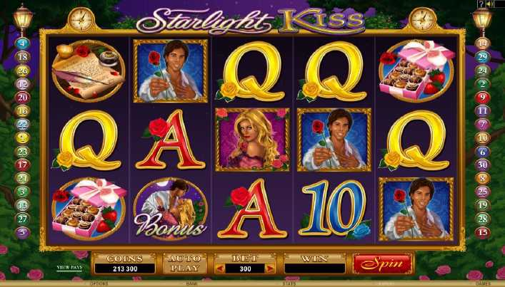 All Slots Casino :: Starlight Kiss video slot - PLAY NOW!