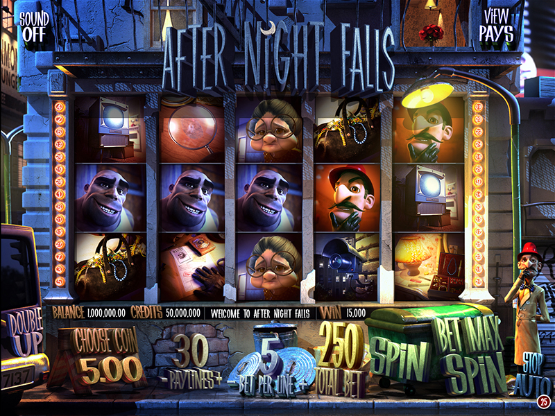 Mr. Green Casino :: After Night Falls 3D slot game - PLAY NOW!
