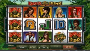 Maple Casino :: Girls with Guns - Jungle Heat video slot :: PLAY NOW!
