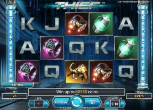 Casino Luck :: Thief video slot - PLAY NOW!
