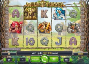 ComeOn Casino :: Wild Turkey video slot - PLAY NOW!