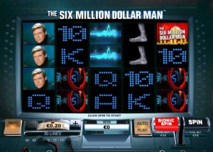 Titan Casino :: The Six Million Dollar Man slot - PLAY NOW!