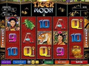 Roxy Palace Casino :: Tiger Moon video slot - PLAY NOW!