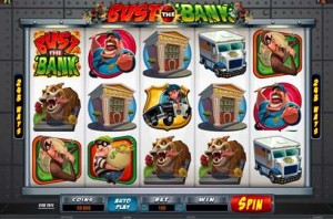 Roxy Palace Casino :: NEW Video Slot - Bust the Bank :: PLAY NOW!