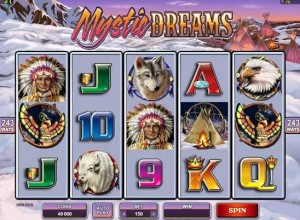 All Slots Casino :: NEW Video Slot - MYSTIC DREAMS :: PLAY NOW!