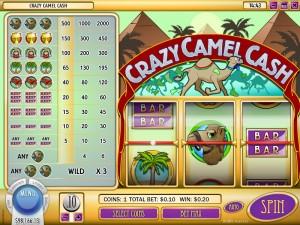 Desert Nights Casino :: Crazy Camel Cash slot - PLAY NOW!
