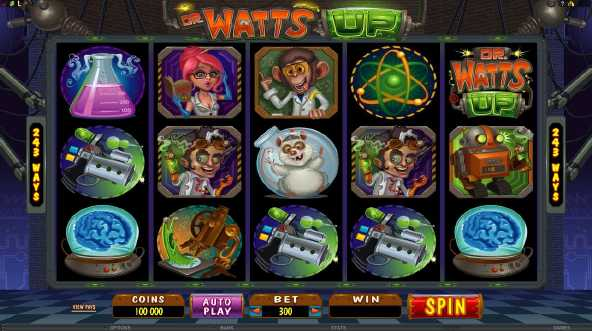All Slots Casino :: Dr. Watts Up video slot - PLAY NOW!