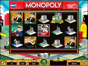 Vera&John Casino :: Monopoly Dream Life slot