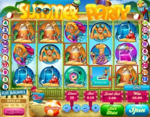 Box24 Casino :: Summer Party video slot - PLAY NOW!
