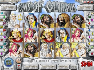 Slots Capital Casino :: Coins of Olympus video slot - PLAY NOW!