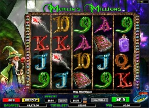 Merlin's Millions video slot (FREE GAME - CLICK HERE!)