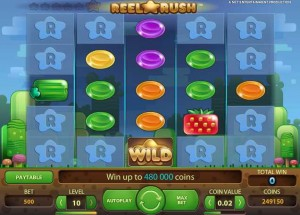 ComeOn Casino :: Reel Rush video slot - PLAY NOW!