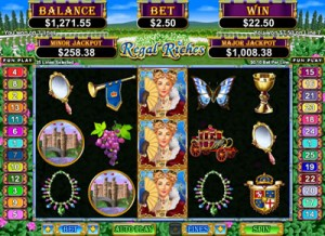 Jackpot Capital Casino :: Regal Riches slot - PLAY NOW! (US Players Welcome!)