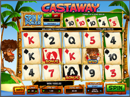 Tropezia Palace Casino :: Castaway slot - PLAY NOW!