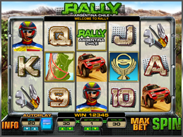 Tropezia Palace Casino :: Rally slot - PLAY NOW!