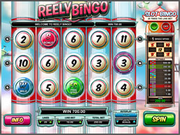 Tropezia Palace Casino :: Reely Bingo slot game - PLAY NOW!
