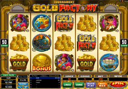 Golden Riviera Casino :: Gold Factory slot - PLAY NOW!