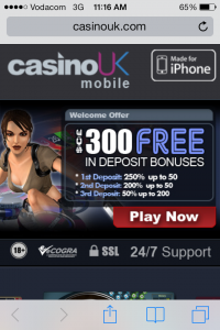 Casino UK Mobile :: PLAY NOW!